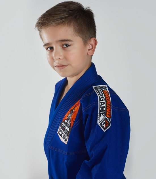 """Tensai"" BJJ Kids GI (Blue) + FREE Belt"
