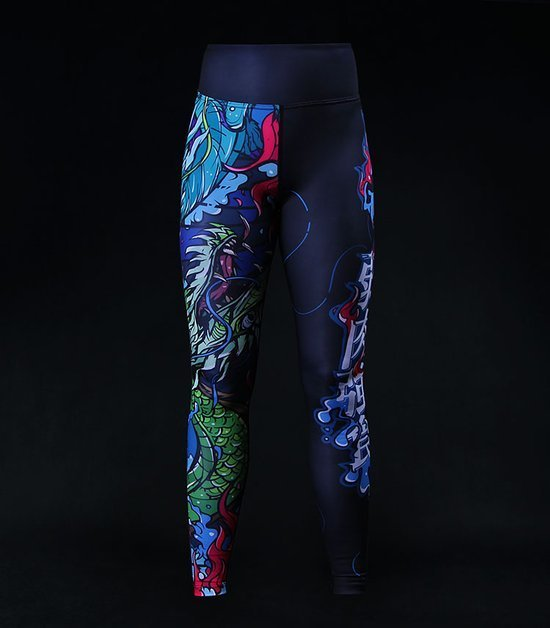 "Women`s Leggings ""Yokai"""