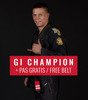 "BJJ GI ""Champion 2.0"" (Black) + FREE Belt"