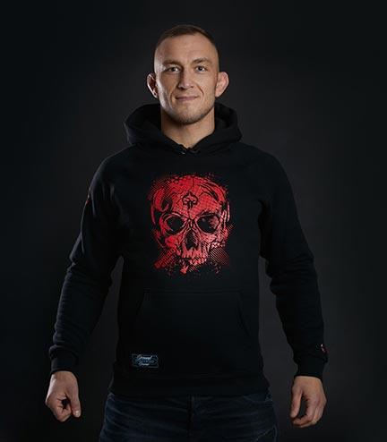 "Bluza z kapturem ""Red Skull"""