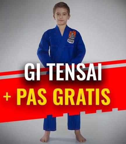 """GI do BJJ dla dzieci """"Tensai"""" (Niebieskie) + pas GRATIS"""