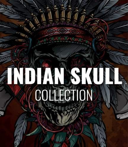 """Kolekcja """"Indian Skull"""""""
