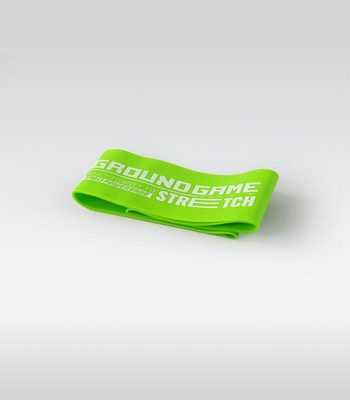 Guma treningowa Mini Band (zielona, 0.8 mm, 11-18 kg)