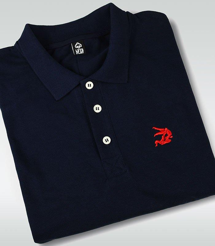 "Koszulka polo  ""Jiteiro"" Ciemnogranatowa"