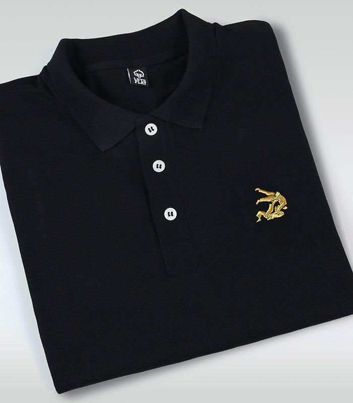 "Koszulka polo  ""Jiteiro"" Czarna"