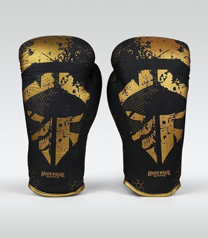 "Rękawice bokserskie ""Cage Gold"" 12 oz"