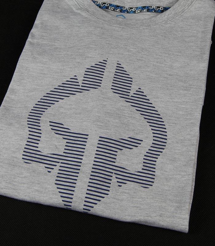 "T-shirt ""Big Logo"" Szary"