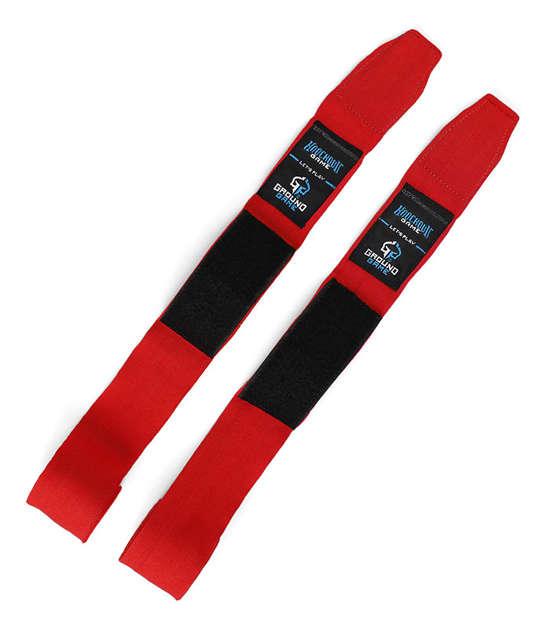 """Bandaże bokserskie """"Classic"""" czerwone"""