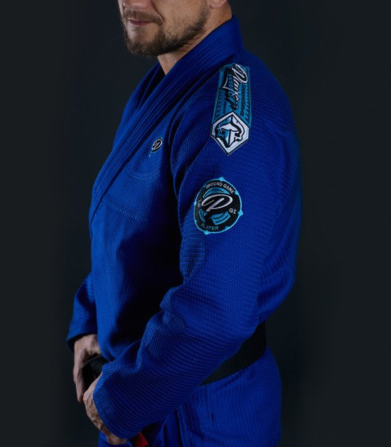 "GI do BJJ ""Player"" (Niebieskie)"