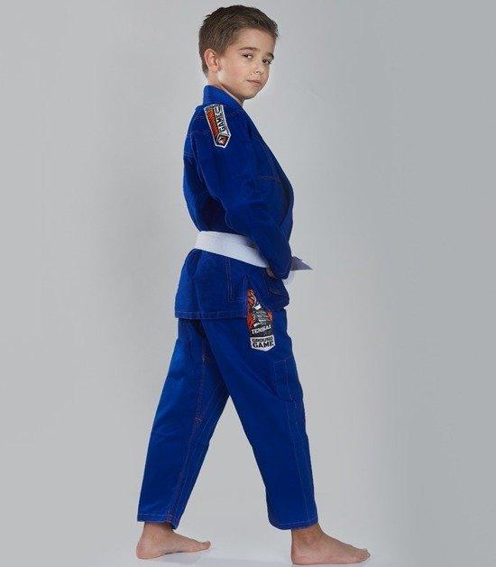 """GI do BJJ dla dzieci """"Tensai"""" (Niebieskie)"""