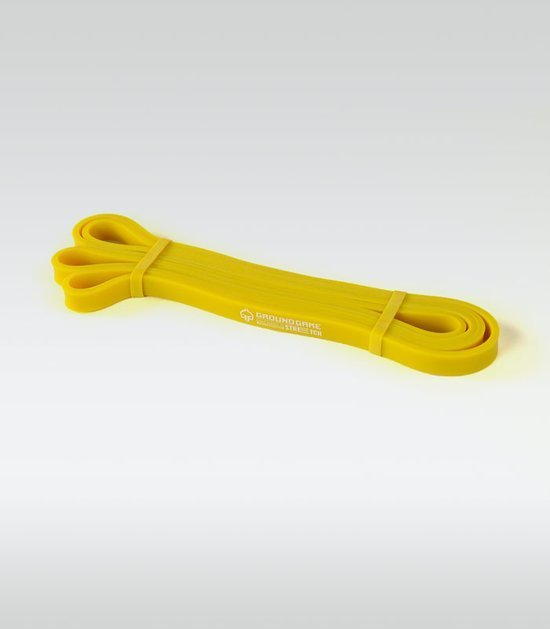 Guma treningowa Power Band (żółta, 13 mm, 7-16 kg)