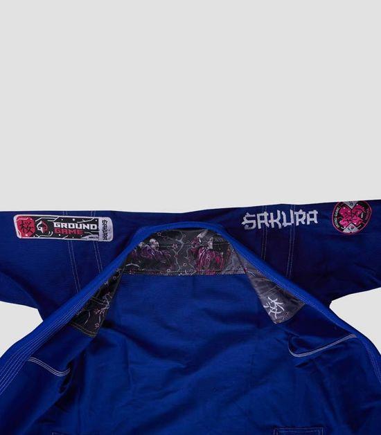 """Kimono/GI damskie do BJJ """"Sakura"""" (Niebieskie)"""