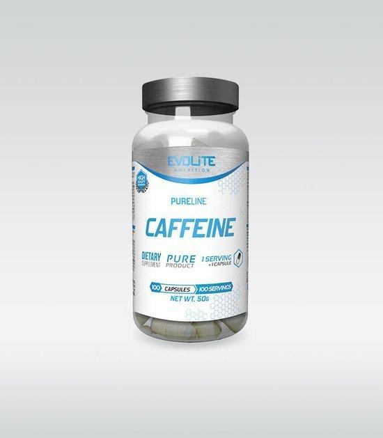 Kofeina Evolite Caffeine 200 mg 100 kapsułek