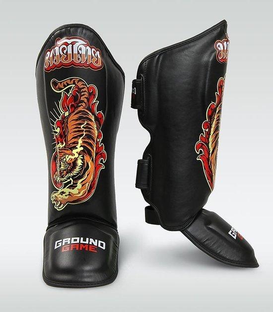 """Ochraniacze piszczeli PRO """"Red Tiger"""""""