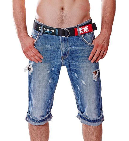 Pas BJJ Jeans (Czarny)