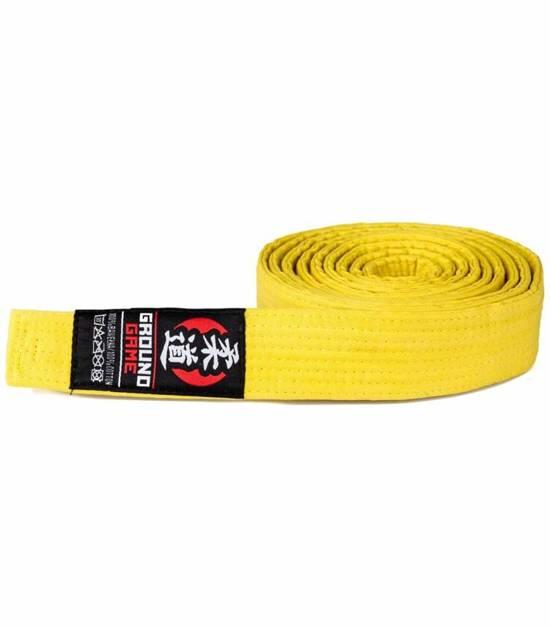 Pas Judo żółty