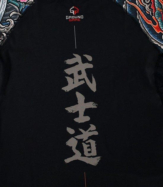 """Rashguard """"Bushido"""" 3.0 długi rękaw (Czarny)"""