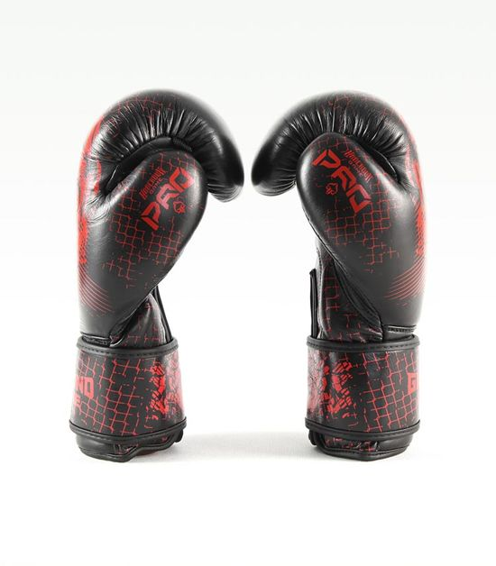 "Rękawice bokserskie PRO ""Red Skull"" 14 oz"