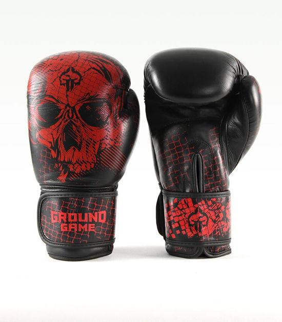 "Rękawice bokserskie PRO ""Red Skull"" 16 oz"