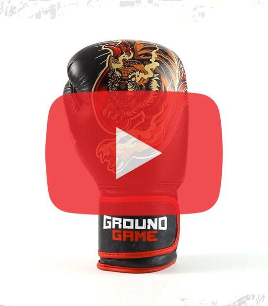 "Rękawice bokserskie PRO ""Red Tiger"" 14 oz"