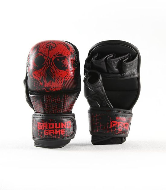 "Rękawice sparingowe MMA PRO ""Red Skull"""