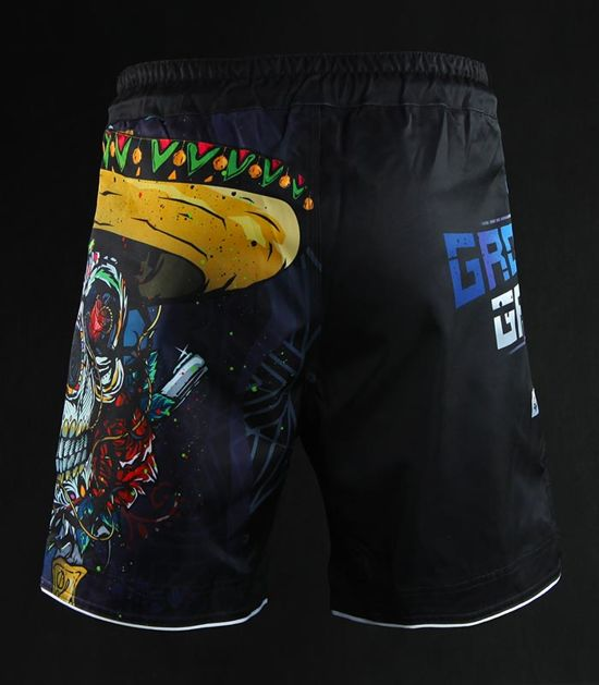 "Spodenki MMA ""Mexican Skull"""